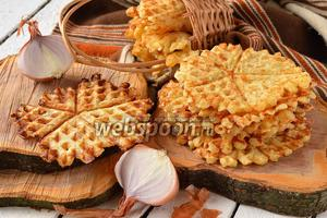 Луковые вафли