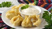 Фото рецепта Манты с картошкой
