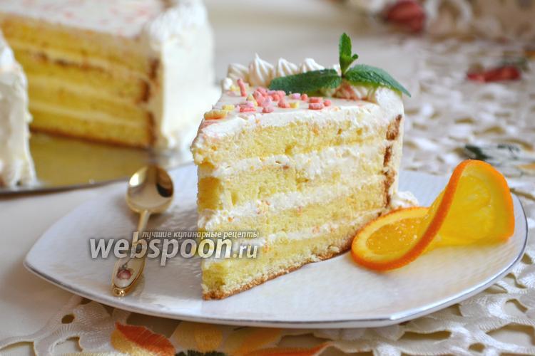 Фото Апельсиновый торт