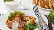 Фото рецепта Котлеты из цветной капусты с курицей