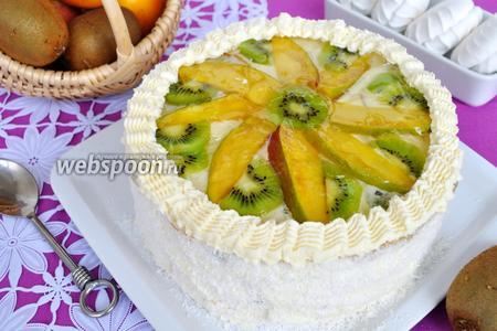 Торт «Зефирный»