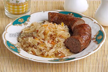 Колбаса из свинины и картофеля по-литовски в аэрогриле