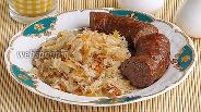 Фото рецепта Колбаса из свинины и картофеля по-литовски в аэрогриле