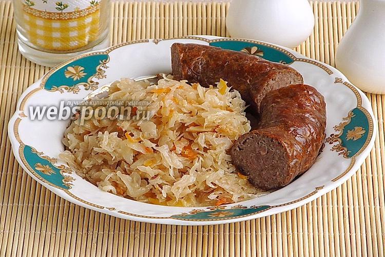 Фото Колбаса из свинины и картофеля по-литовски в аэрогриле