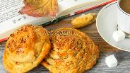 Фото рецепта Булочки с кунжутной пастой