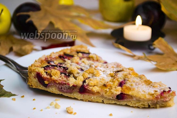 Фото Фруктовый пирог с хрустящей корочкой