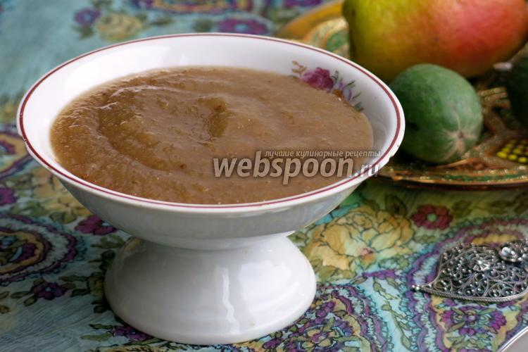 Варенье из фейхоа пошаговый рецепт с фото