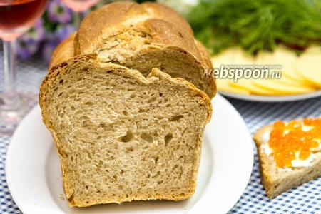Деревенский хлеб с тмином