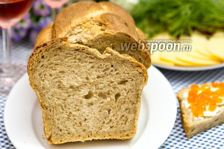 Фото Деревенский хлеб с тмином