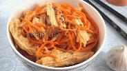 Фото рецепта Соевая спаржа по-корейски