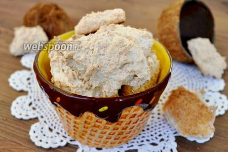 Хрупкое кокосовое печенье