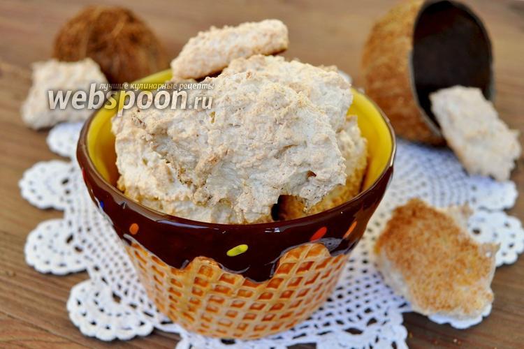 Фото Хрупкое кокосовое печенье