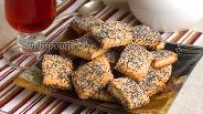 Фото рецепта Сметанное печенье с маком