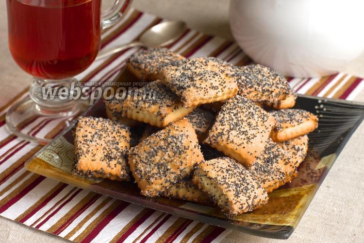 Фото Сметанное печенье с маком