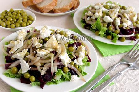 Салат из свёклы и феты