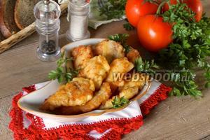Филе пангасиуса в сырном кляре