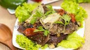 Фото рецепта Мясо страуса с овощами