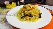 Фото рецепта Рис с курицей и черносливом