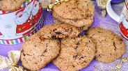 Фото рецепта Овсяное печенье из шоколадных конфет