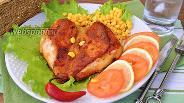 Фото рецепта Острое куриное филе «Дьябло чикен»