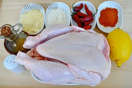 Для приготовления этого блюда не достаточно подготовить необходимые ингредиенты, очень важно подготовить перчатки тонкие медицинские, для защиты рук от перца.