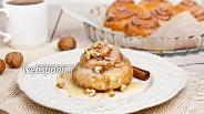 Фото рецепта Булочки с корицей «Cinnabon»