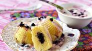 Фото рецепта Ленивые вареники с маковой начинкой в мультиварке