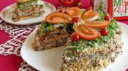 Фото рецепта Баклажанный торт