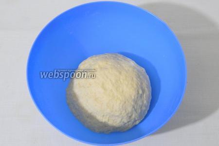 Замешиваем мягкое эластичное тесто.