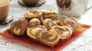 Фото рецепта Шоколадно-лимонные кексы