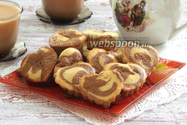 Фото Шоколадно-лимонные кексы