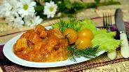Фото рецепта Гуляш из свинины с подливой