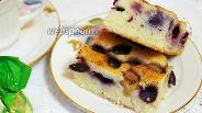 Фото рецепта Виноградный пирог с имбирём и корицей