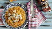 Фото рецепта Тыква с пшеницей и куриным филе