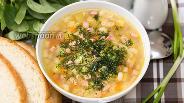Фото рецепта Суп с макаронами и вареной колбасой