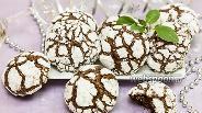 Фото рецепта Шоколадное печенье с мятой