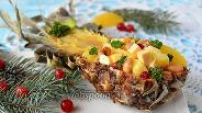 Фото рецепта Салат в ананасе