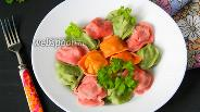 Фото рецепта Разноцветные пельмени