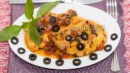 Фото рецепта Куриные грудки под соусом «Провансаль»