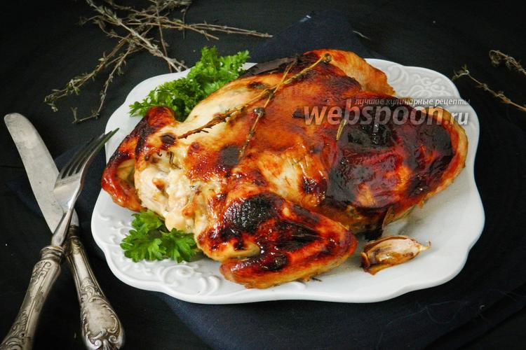 Фото Фаршированный цыплёнок