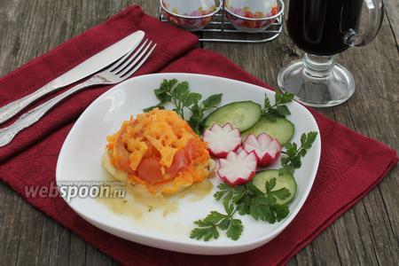 Филе пангасиуса запечённое в фольге