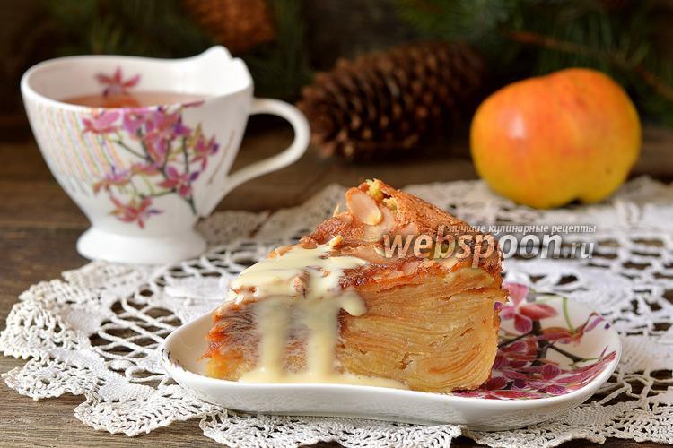 Фото Пирог с яблоками «Невидимый»