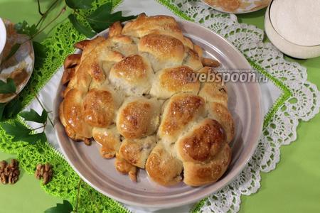 Пирог «Кисть винограда»