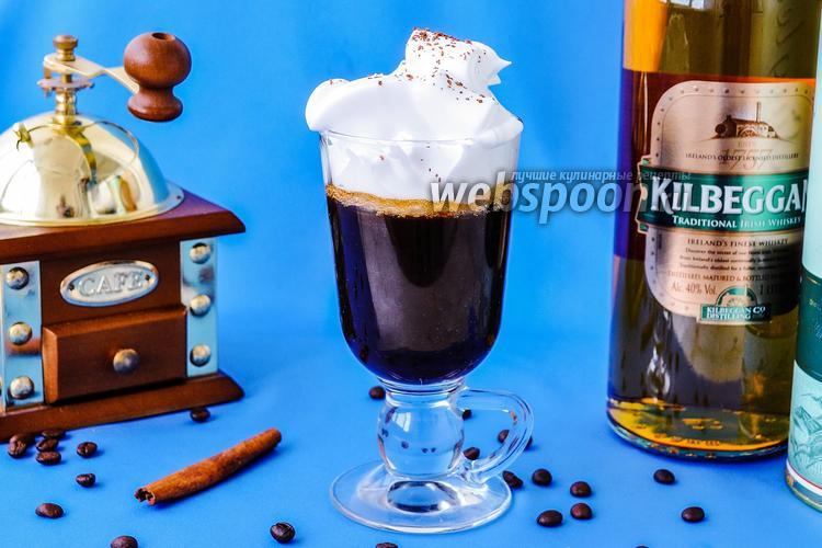 Рецепт Кофе по-ирландски (айриш)