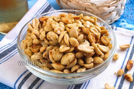 Пикантные орешки к пиву