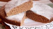 Фото рецепта Шоколадный бисквит без яиц