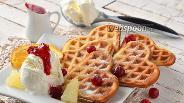 Фото рецепта Хрустящие масляные вафли