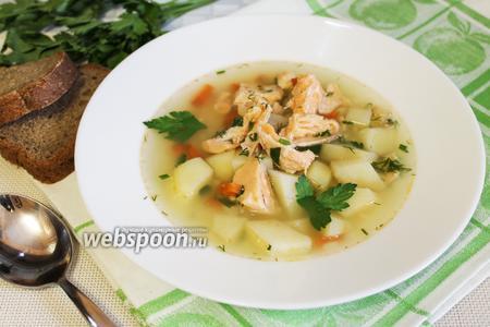 Рыбный суп из сёмги