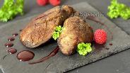 Фото рецепта Фуа-гра в малиновом соусе