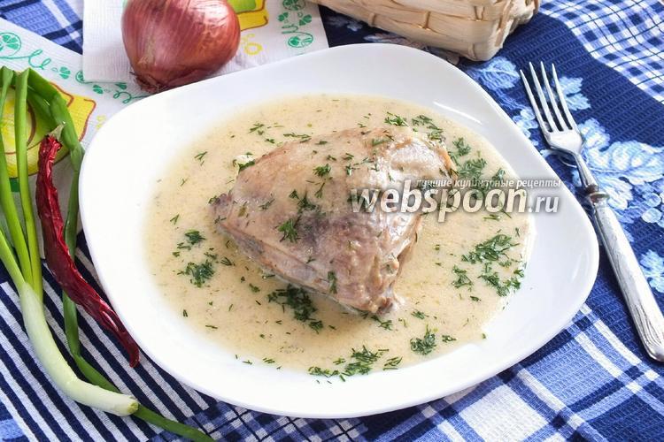 Фото Курица в сметанном соусе